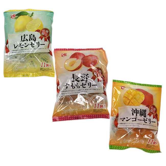 水果果凍 芒果 檸檬 白桃 產地限定 日本進口製造