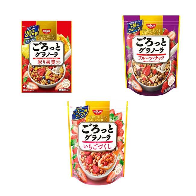 水果麥片 草莓麥片 400g 日本製造進口