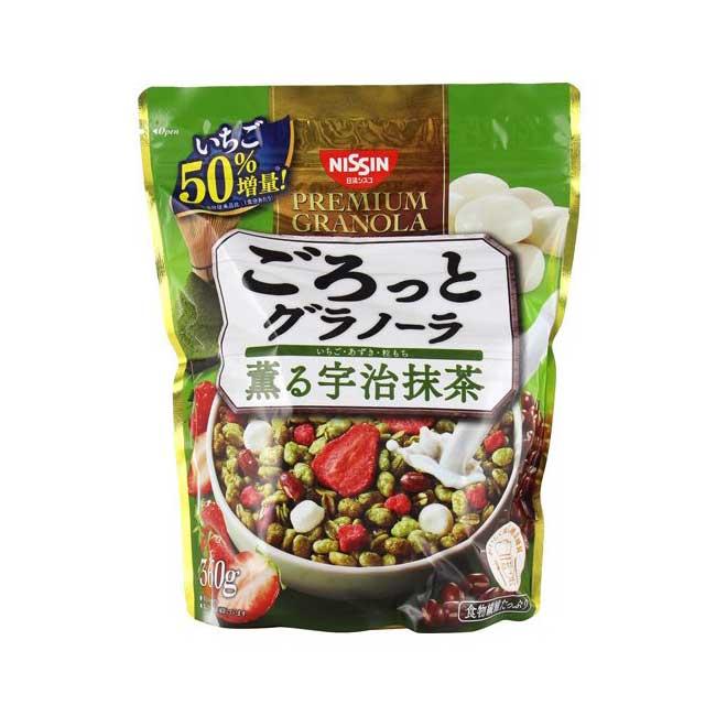 抹茶麥片 360g 日清 沖泡麥片 日本製造進口