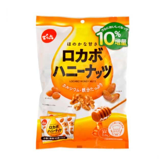 蜂蜜堅果 增量 126g 點心 日本製造進口