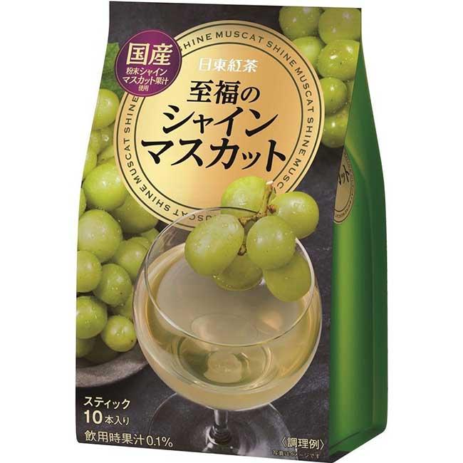 白葡萄飲料粉 粉末飲料 沖泡飲品 日本製造進口