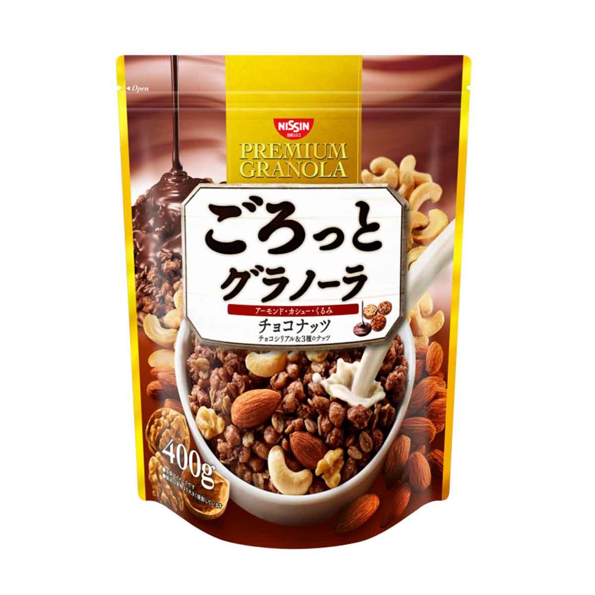 綜合麥片 可可風味 日清食品 PREMIUM GRANOLA 日本進口