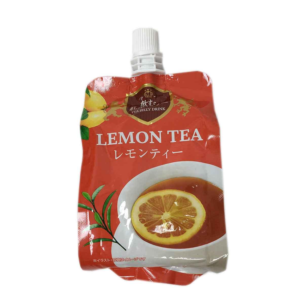 檸檬紅茶風味吸凍飲 LEMON TEA 日本進口製造