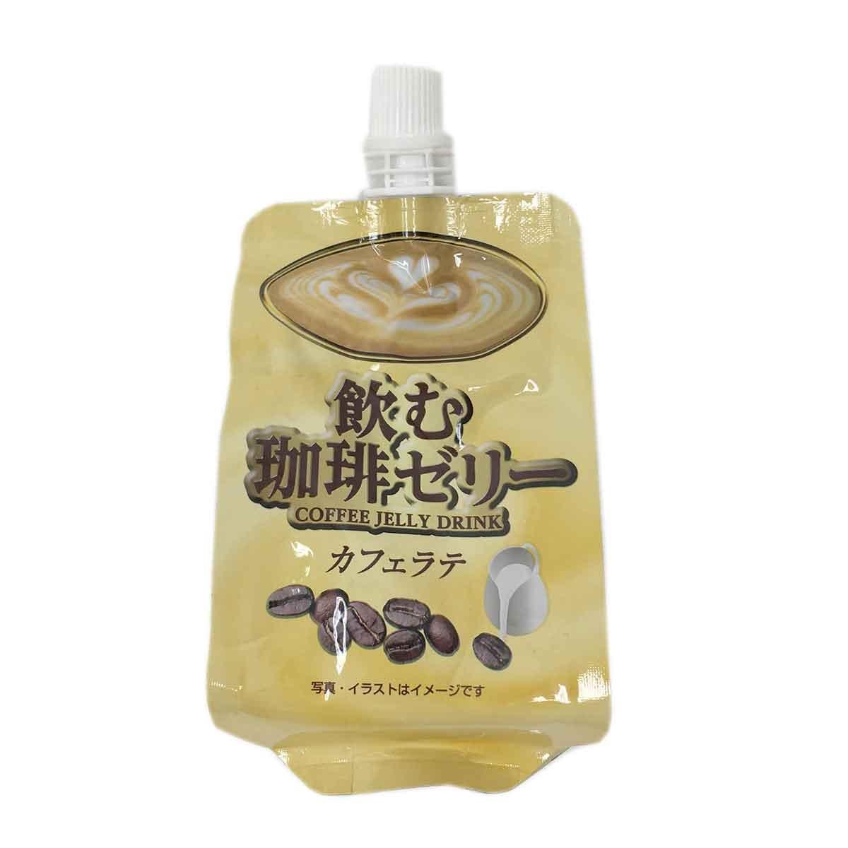 咖啡風味吸凍飲 日本進口製造