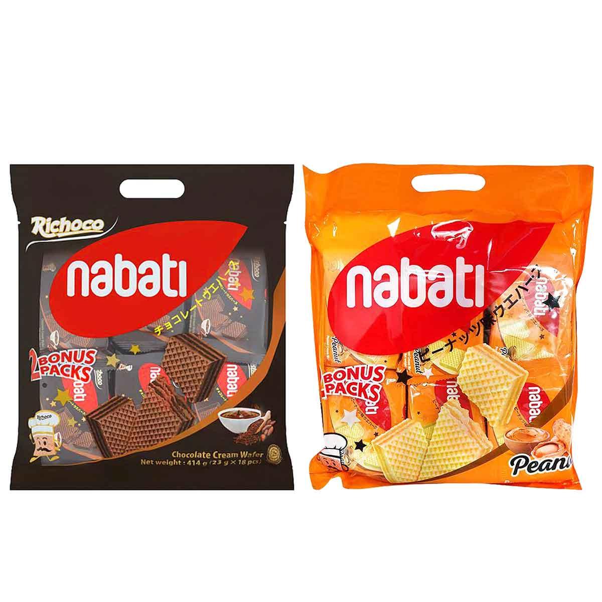 威化餅 花生風味 巧克力風味 印尼進口製造