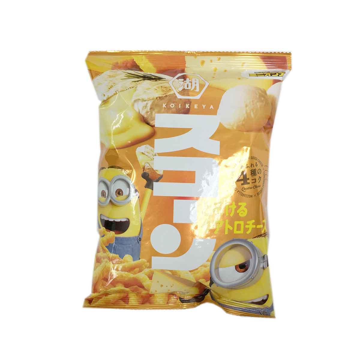 起司風味玉米棒 日本 湖池屋 餅乾 日本製造進口