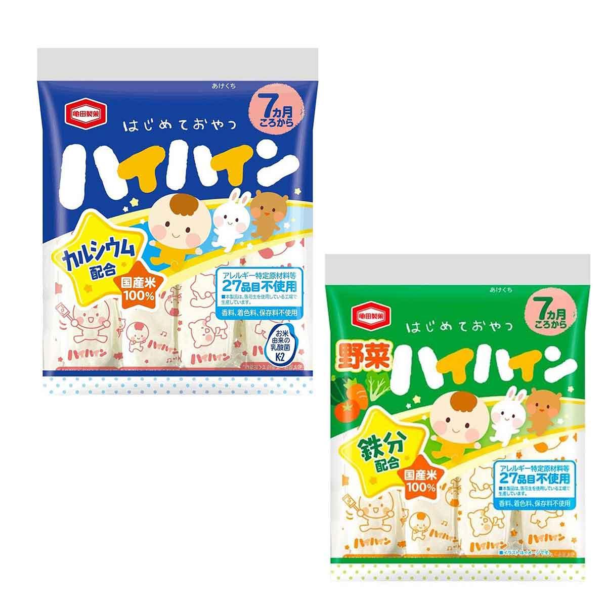 寶寶米餅 日本 野菜米果 53g 日本進口製造