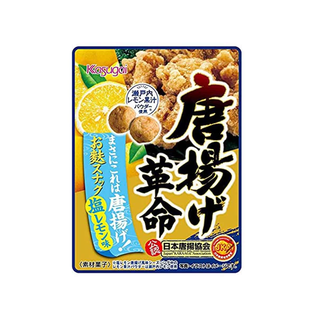 唐揚風味豆果子 鹽味檸檬 春日井 日本進口製造