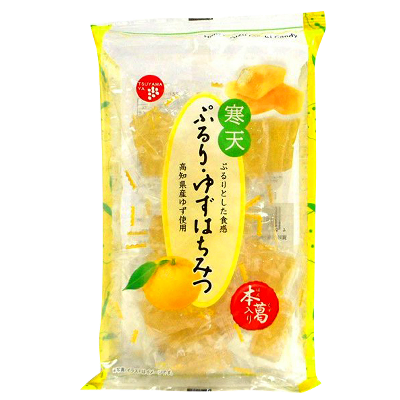 軟糖 柚子口味 185g 獨立包裝 日本進口製造