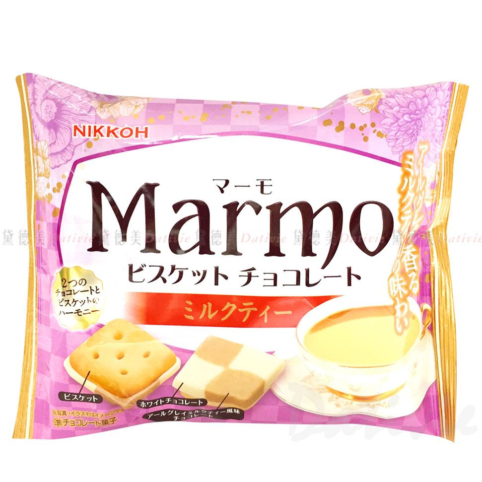 可可風味餅-奶茶香 MARMO NIKKOH 日幸 96g 日本進口製造