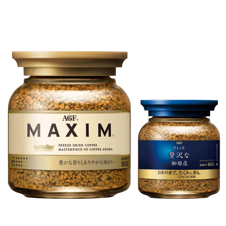 即溶咖啡 80g 香醇 箴言 AGF MAXIM 日本進口製造