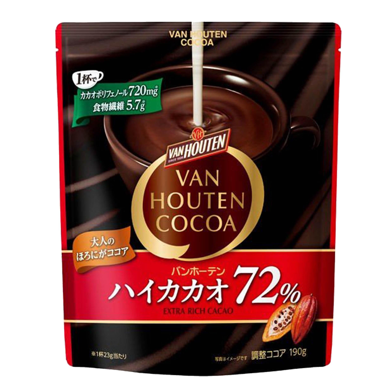 可可亞粉 190g-COCOA VAN HOUTEN 片岡 日本進口製造
