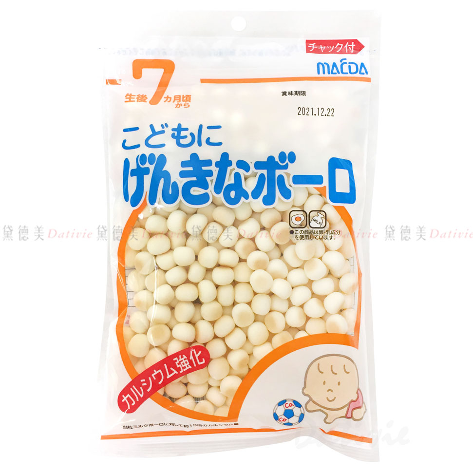小蛋酥-七個月 嬰兒 MACDA 日本進口製造
