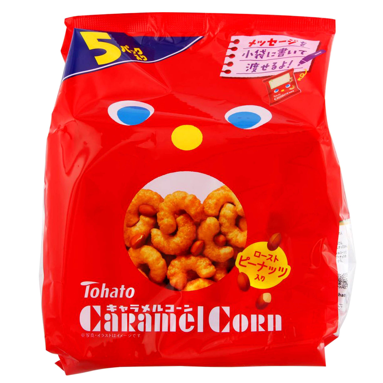 花生焦糖米條 5袋-Tohato 東鳩 東ハト日本進口製造