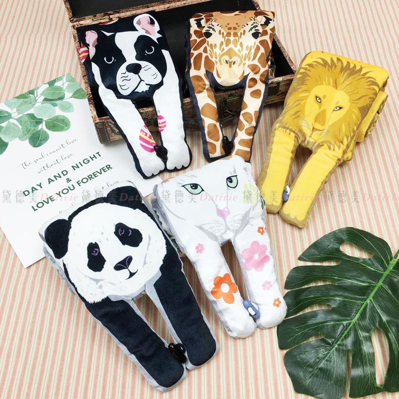 圍巾 圍脖 叢林世界 動物王國 動物造型 手手 造型圍巾 五款