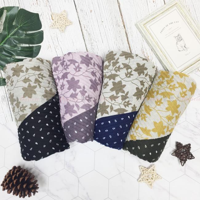圍巾 薄圍巾 混搭  楓葉 保暖 秋冬 四款