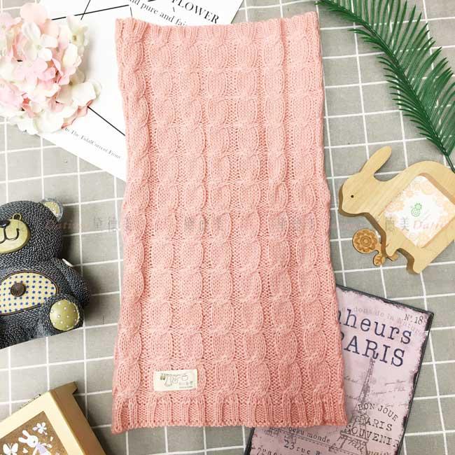 韓國圍脖 編織 麻花 針織 親膚 保暖 成人
