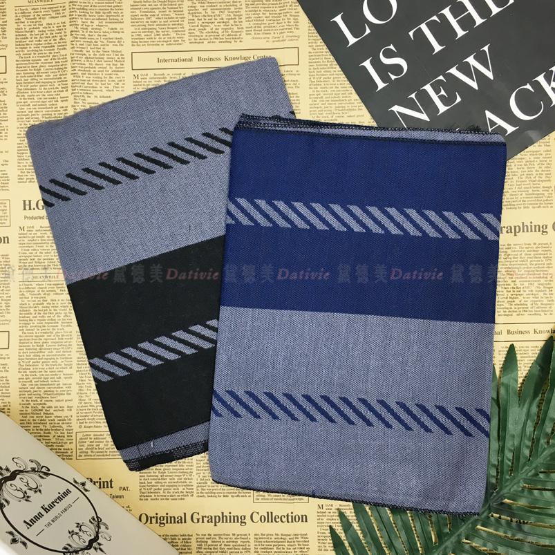圍巾 秋冬 虛線 線條 格紋 撞色 保暖圍巾 兩款 不收邊