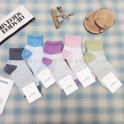 襪子  文清風 簡約 素 撞色 五款 韓國襪
