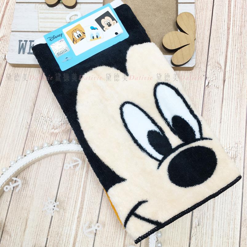 毛巾 迪士尼 小方巾 三入組 棉 正版授權