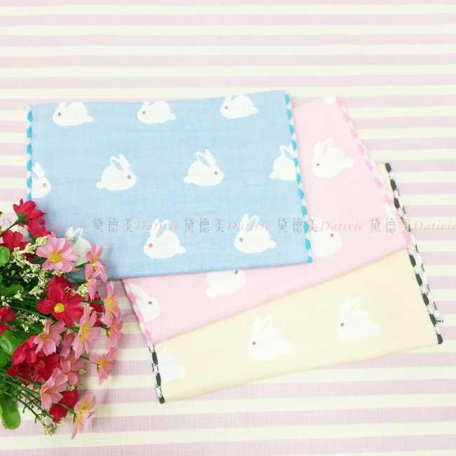毛巾 白兔子 100%純棉 3色 童巾