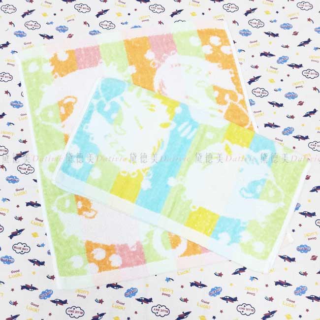 方巾 小豬 3色 純棉 毛巾