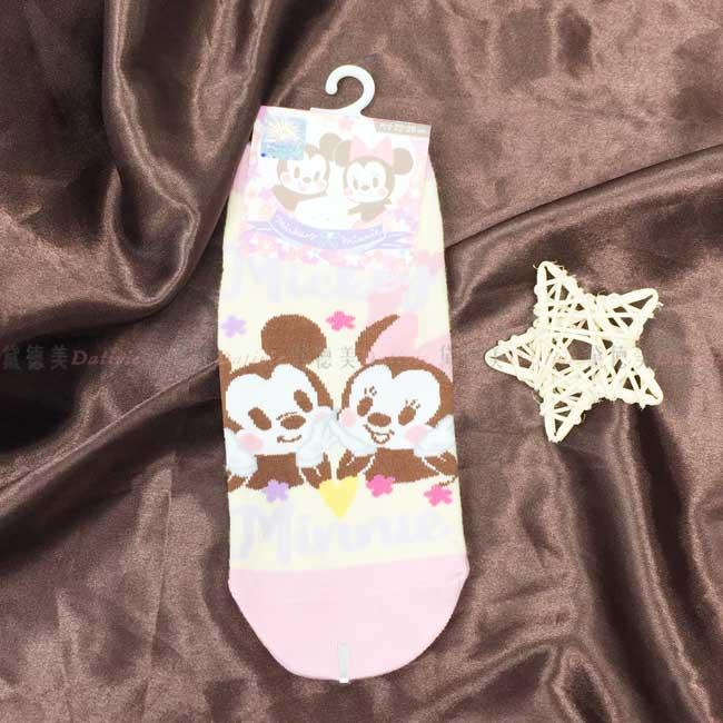 直版襪 迪士尼 米奇米妮 22~26cm 襪子 正版授權