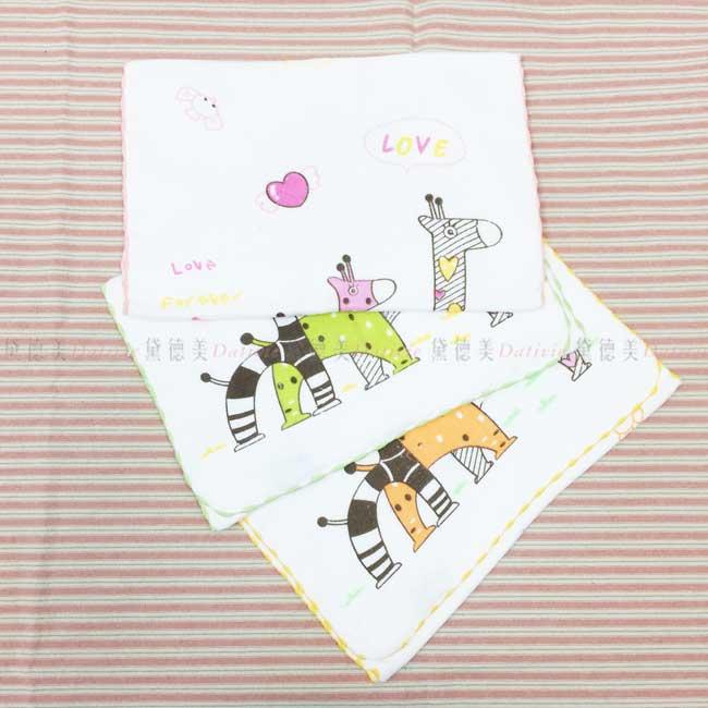紗布童巾 長頸鹿 純棉 長巾