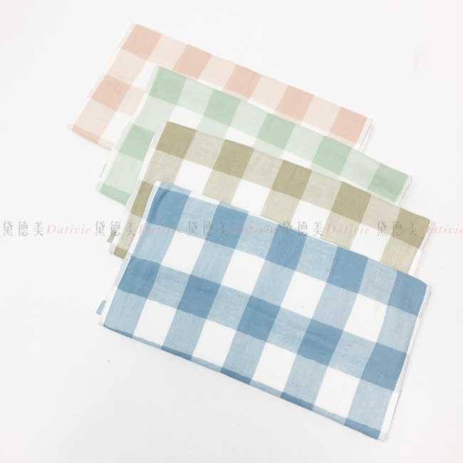 格紋毛巾 純棉 長巾