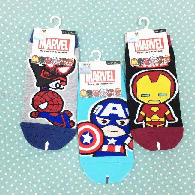 直版襪 迪士尼 漫威 復仇者聯盟系列 童襪 正版授權