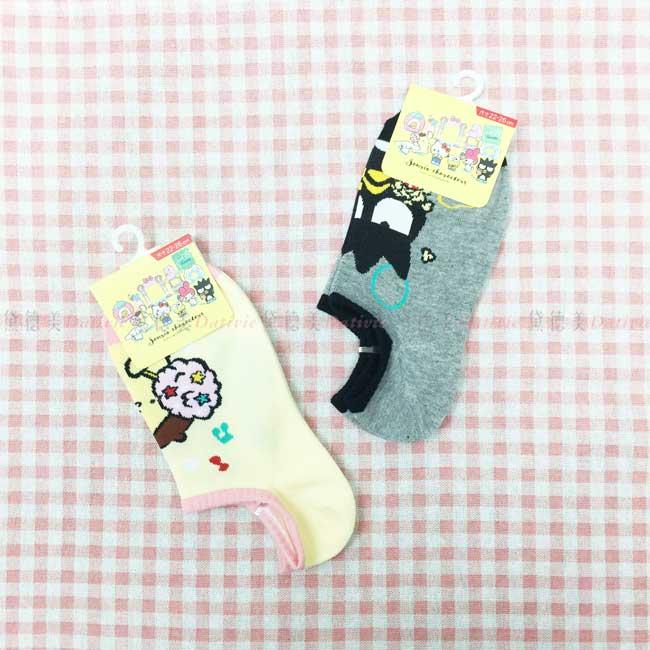 襪子 卡通襪 短襪 船型襪 三麗鷗 布丁狗 酷企鵝 成人襪 正版授權