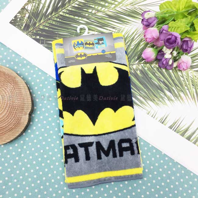 蝙蝠俠小方巾 BATMAN 三入組 毛巾 DC超人 英雄系列 正版授權