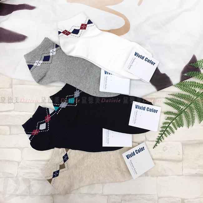 韓國襪 菱形紋 格紋 花紋 成人襪 襪子