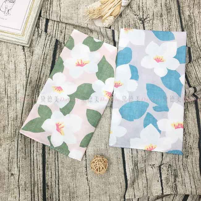 雙層紗布毛巾 100%棉 水仙花 兩色 日本製