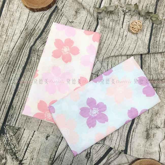 紗布巾 純棉 櫻花 兩色 雙層紗布毛巾 日本製