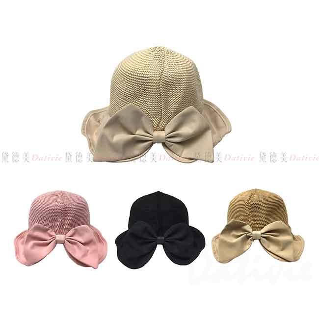 淑女帽 蝴蝶 4色 蝴蝶結 帽子 遮陽帽