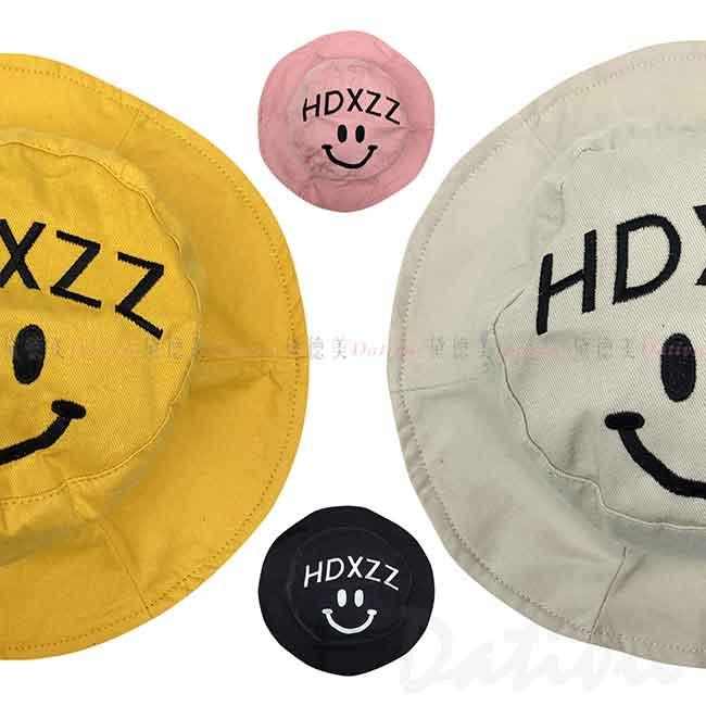 遮陽帽 笑臉 HDXZZ 4色 漁夫帽