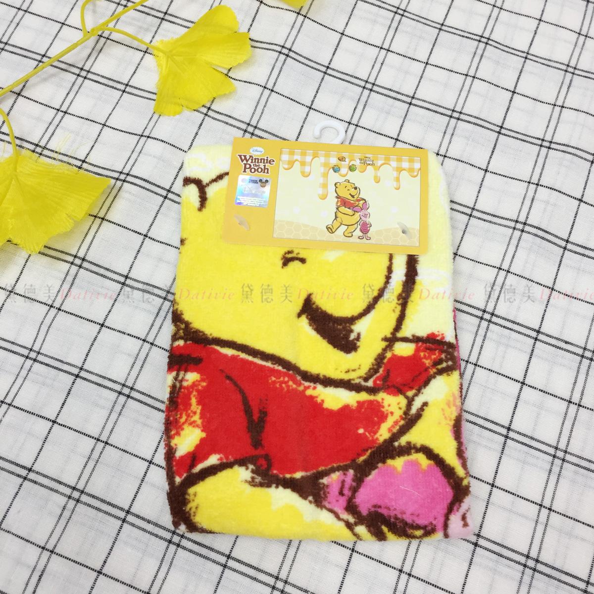 童巾 迪士尼 小熊維尼 Winnie the Pooh 純棉毛巾 正版授權