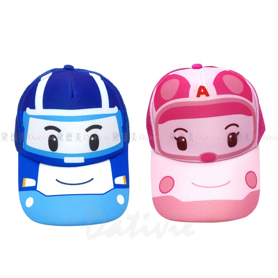 波力 POLI 兒童 鴨舌帽 棒球帽 頭圍49~55cm 波力 安寶 兩款 正版授權