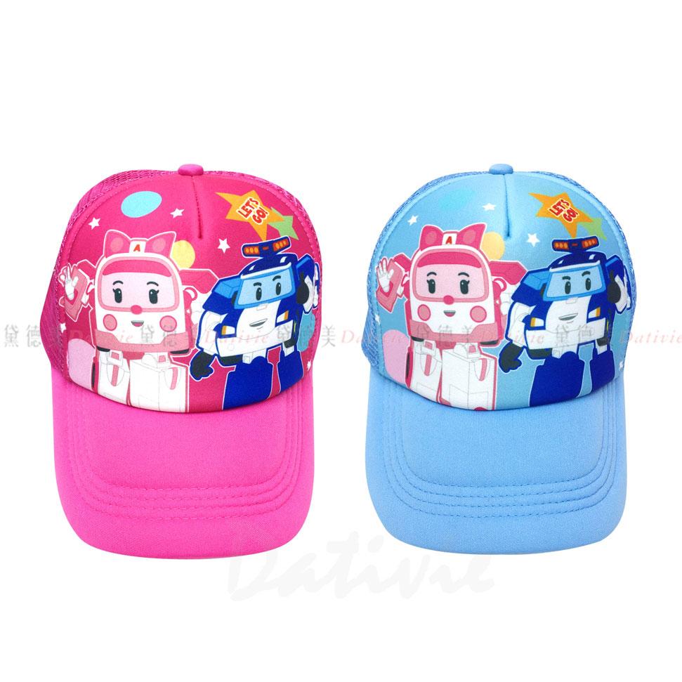 波力 POLI 兒童 鴨舌帽 棒球帽 頭圍49~55cm 波力 安寶 兩款 Free 正版授權
