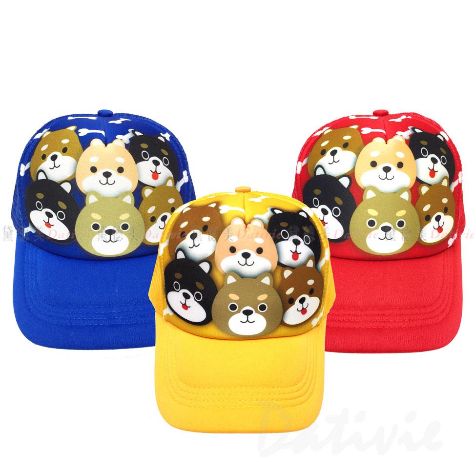 柴犬 鴨舌帽 棒球帽 頭圍約49~55cm FREE 三色 正版授權