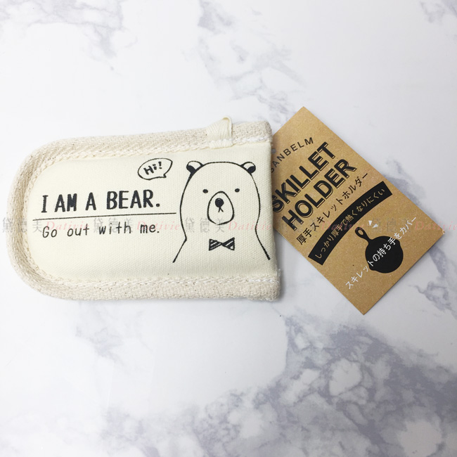 鍋具 防燙手 防熱墊 熊熊 日本進口