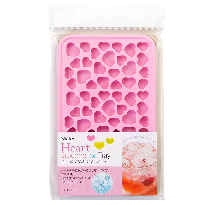 愛心矽膠冰模-Heart Silicone Ice Tray SKATER 日本進口正版授權