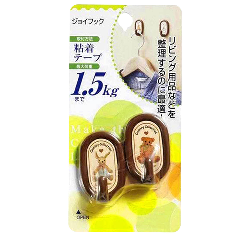 塑膠掛勾 2入-ジョイフック TORUNE 日本進口正版授權