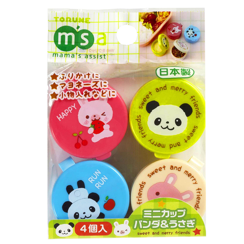 醬料盒 14ml 4入-兔兔 熊貓 TORUNE 日本進口正版授權